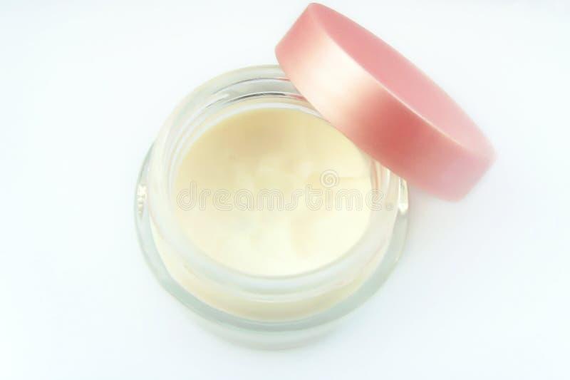mousturizing δέρμα κρέμας στοκ εικόνες