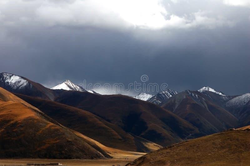 moutain śnieżny Tibet zdjęcia stock