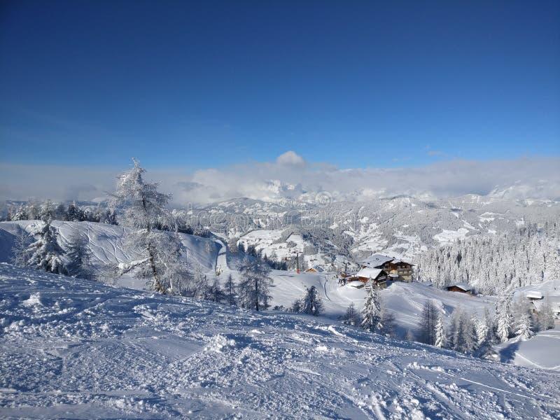 Moutain στην Αυστρία στοκ εικόνα
