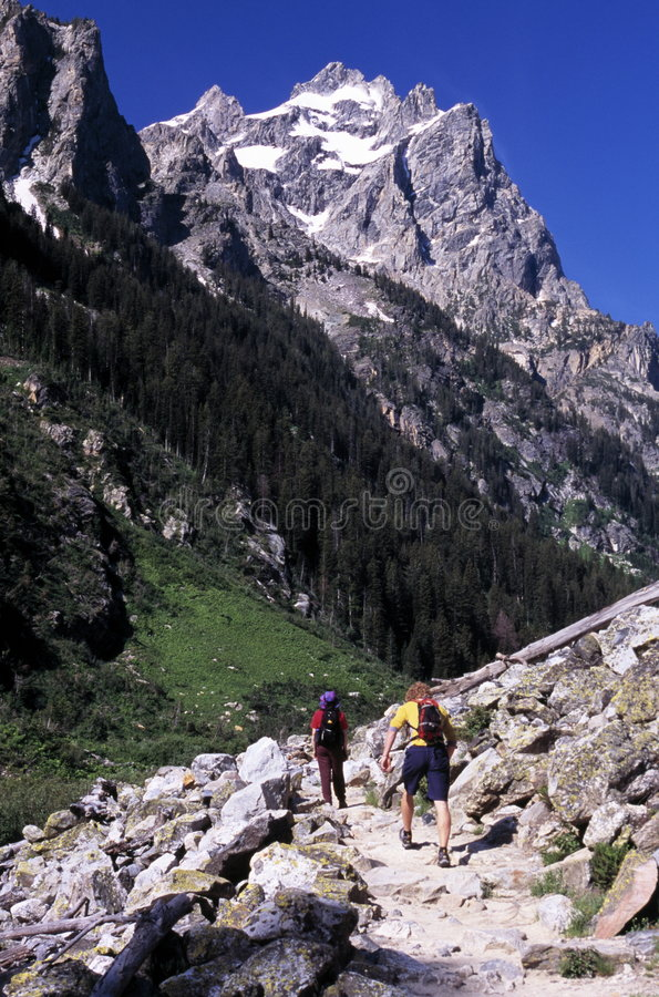 Download Moutain hikers stock photo. Image of peak, landscape, peaceful - 2135902
