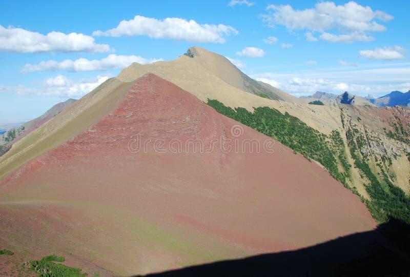 Moutain in Rockies lizenzfreie stockbilder