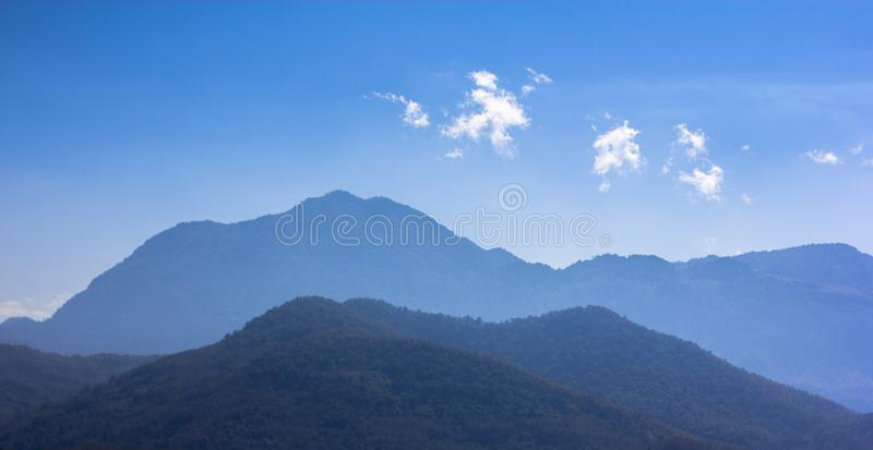 Moutains in Laos lizenzfreies stockfoto