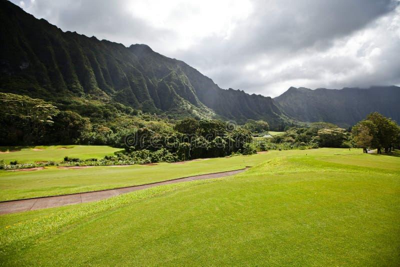 Download Moutains on Oahu, Hawaii stock photo. Image of koolau - 35133314