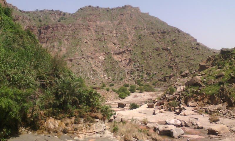 Moutains od Pakistan zdjęcie stock