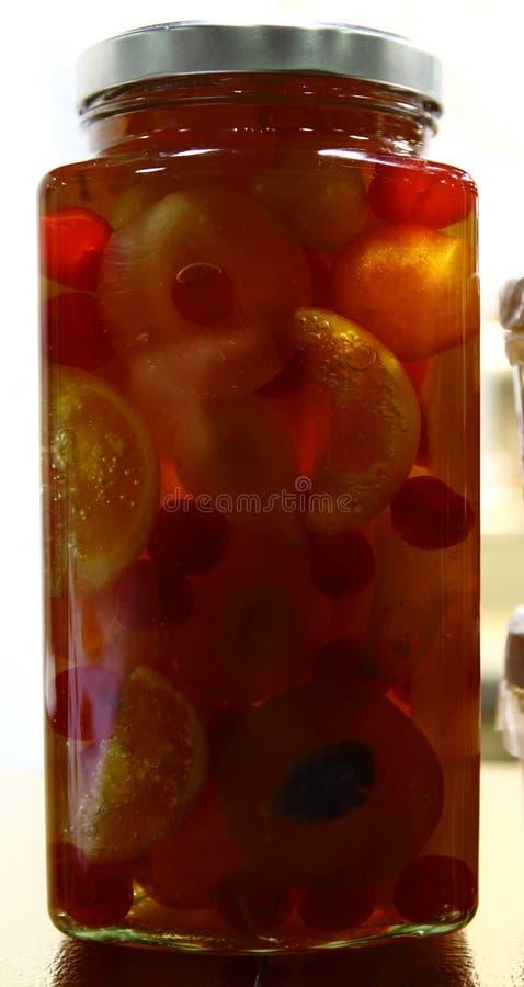 Moutarde de fruit photo stock