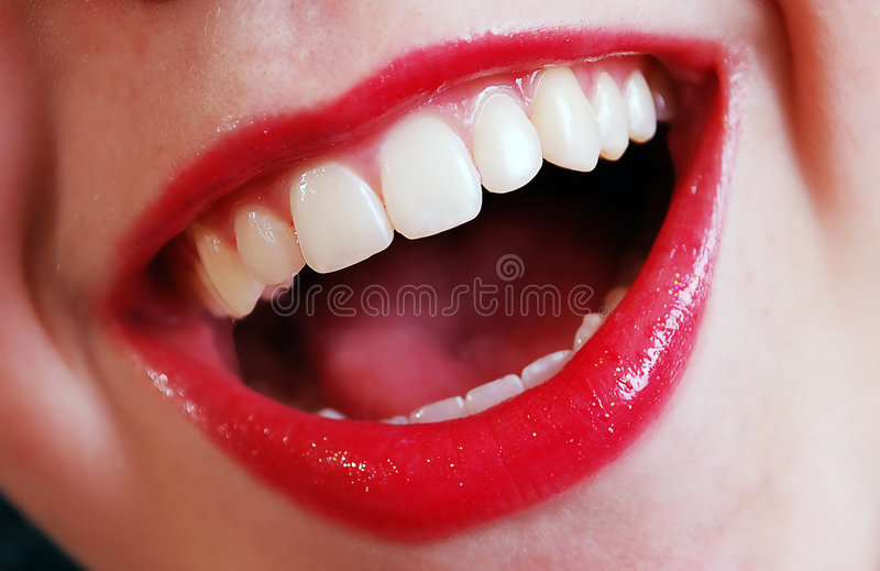 Download Mouth stock image. Image of laughing, glamourous, face - 7558977