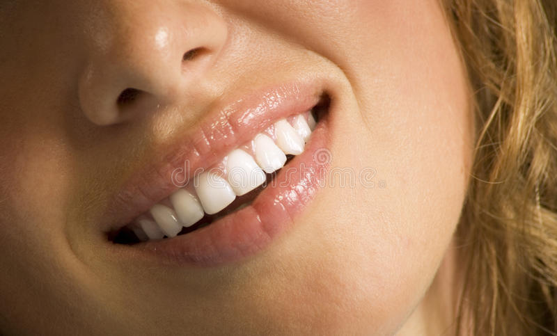 Mouth care stock image