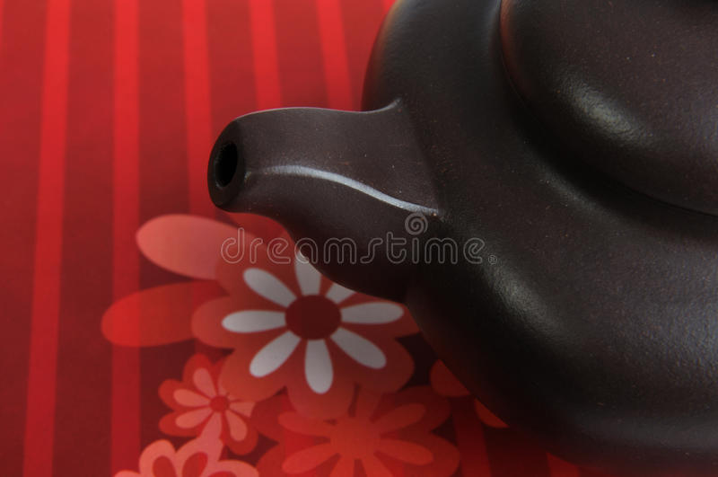 Mouth Of Chinese Tea Pottery Royalty Free Stock Images