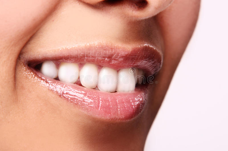 Download Mouth with great teeth stock image. Image of lips, female - 12465577