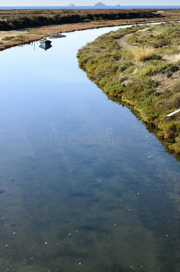 Mouth Of The River Royalty Free Stock Photography