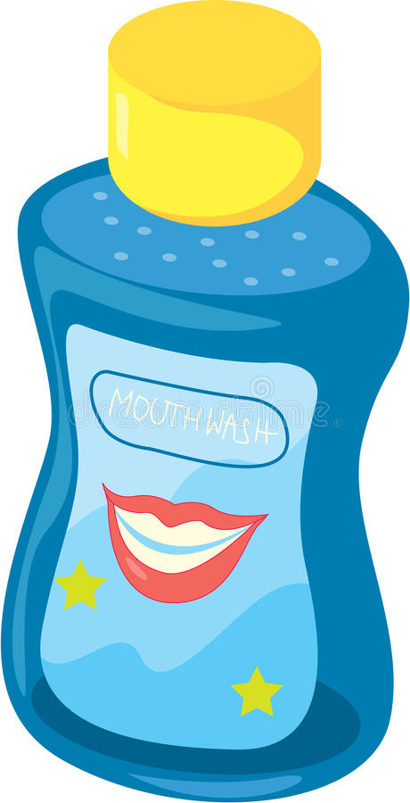 Download Mouth wash stock vector. Image of sketch, antiseptic - 10540623