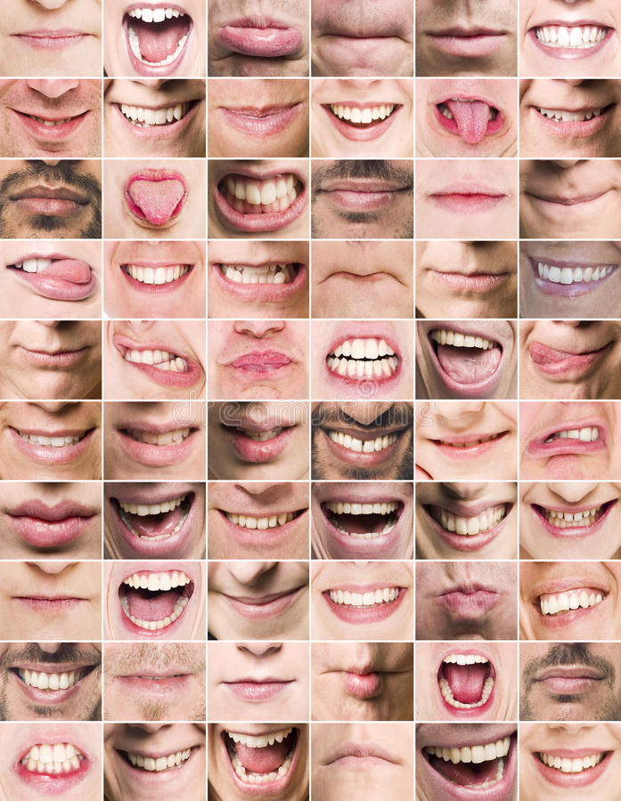 Mouths stock images