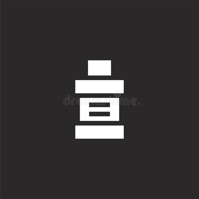 mouthwash εικονίδιο Γεμισμένο mouthwash εικονίδιο για το σχέδιο ιστοχώρου και κινητός, app ανάπτυξη mouthwash εικονίδιο από τη γε ελεύθερη απεικόνιση δικαιώματος