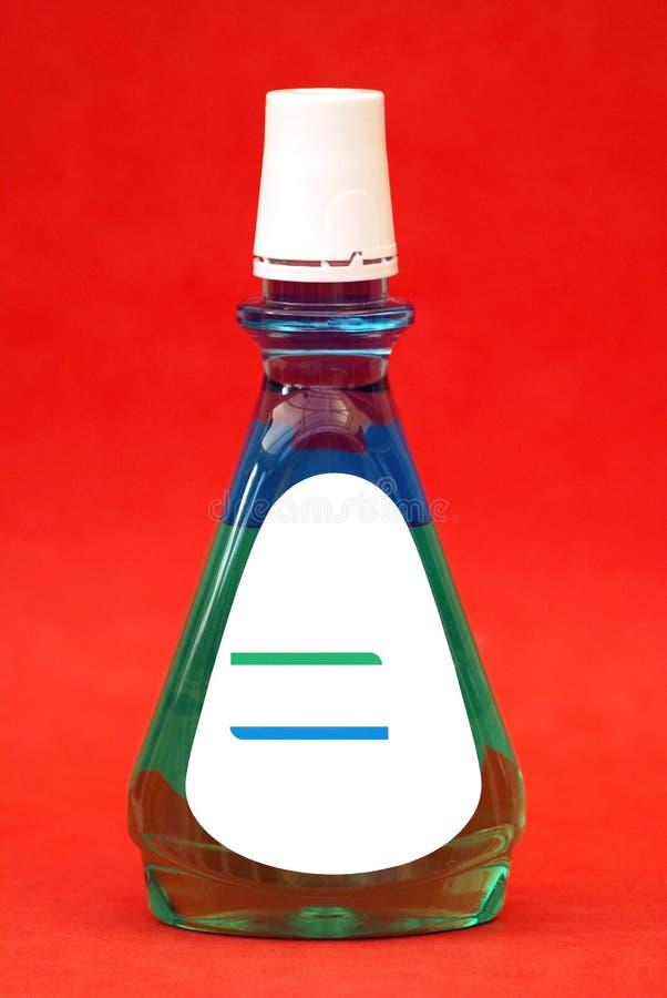 mouthwash rinse рта устный rinse ванна рта Бутылка стоковое фото rf