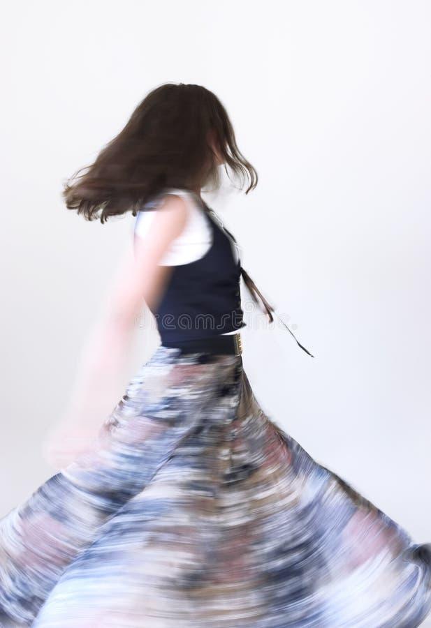 Download Moution χορού στοκ εικόνα. εικόνα από φούστα, πρόσωπο, ζωηρόχρωμος - 383783