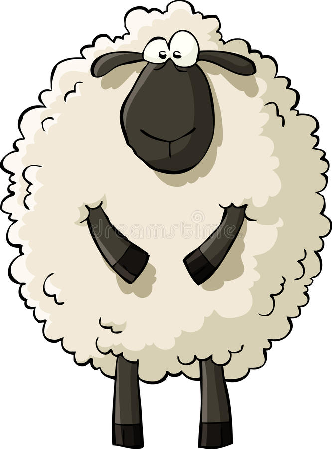 Moutons illustration stock