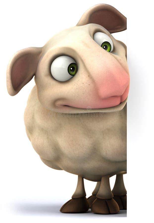Moutons illustration stock