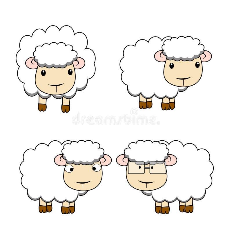 Moutons illustration libre de droits