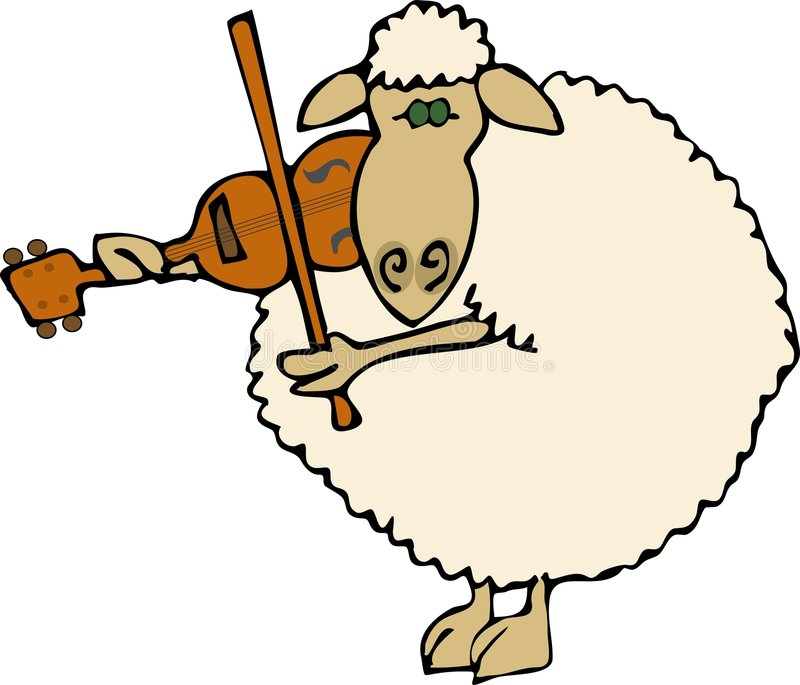Moutons classiques illustration libre de droits