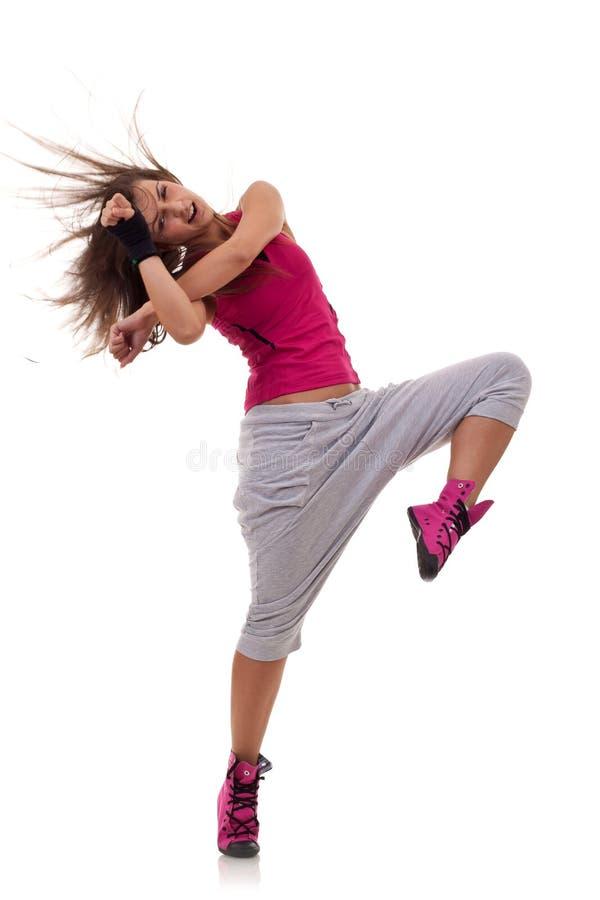 Mouvement de danse de Headbanging images libres de droits