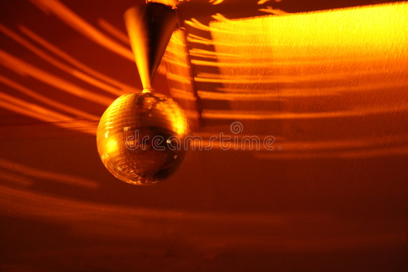 Mouvement de disco photo stock