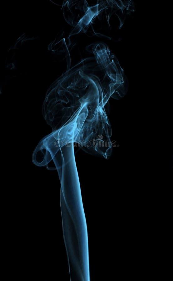Mouvement de fumée photographie stock libre de droits