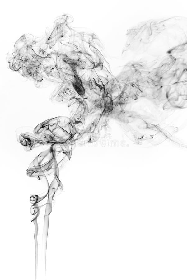 Mouvement de gel de fumée photos stock