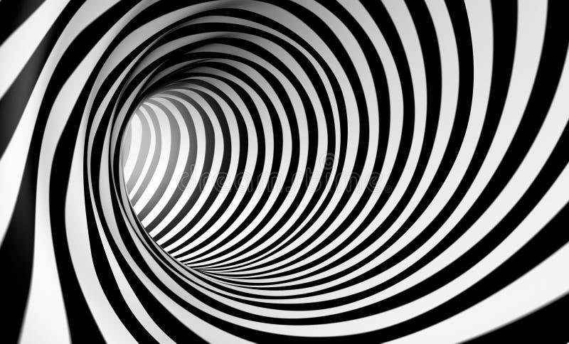 Mouvement giratoire abstrait