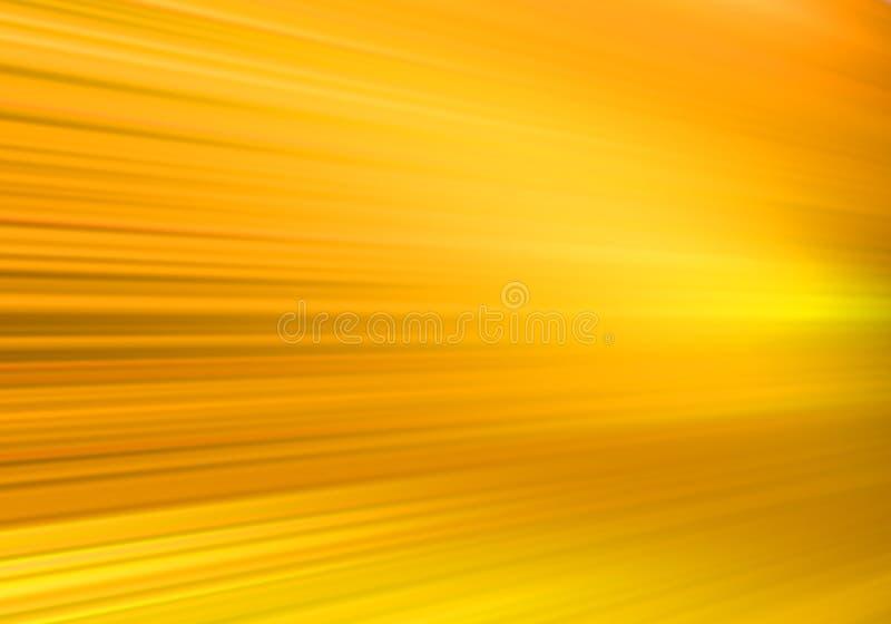 Mouvement jaune illustration stock