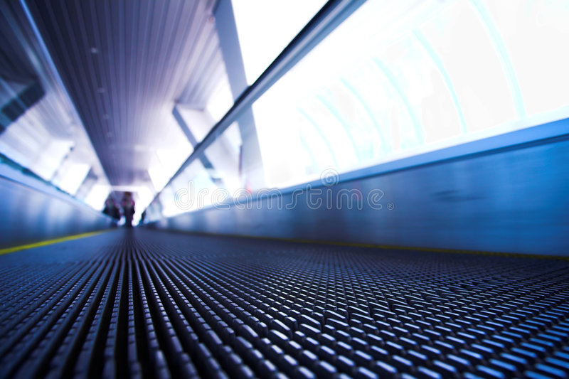 Download Move Escalator In Modern Office Stock Photo - Image: 5053960