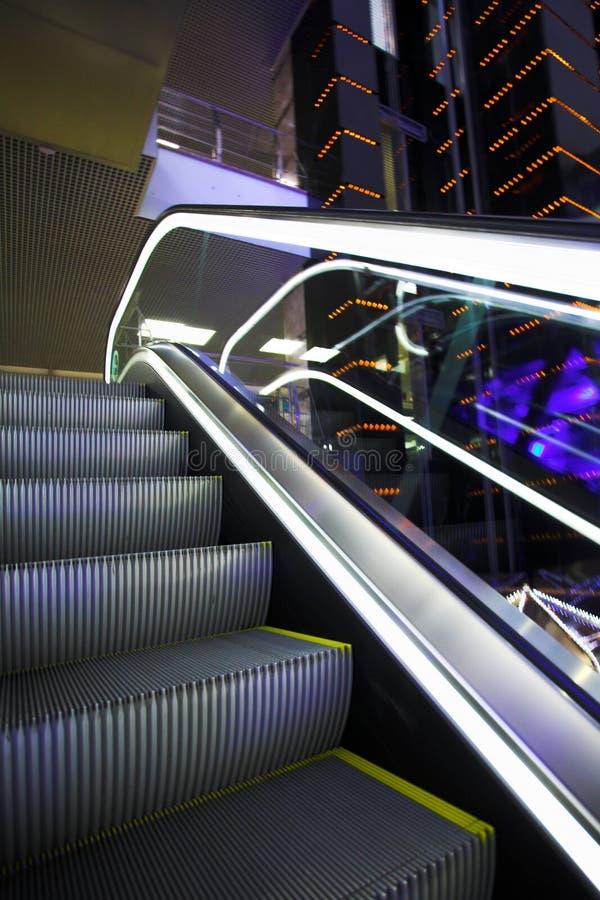 Download Escalator stock photo. Image of floor, steel, center, metal - 5130012