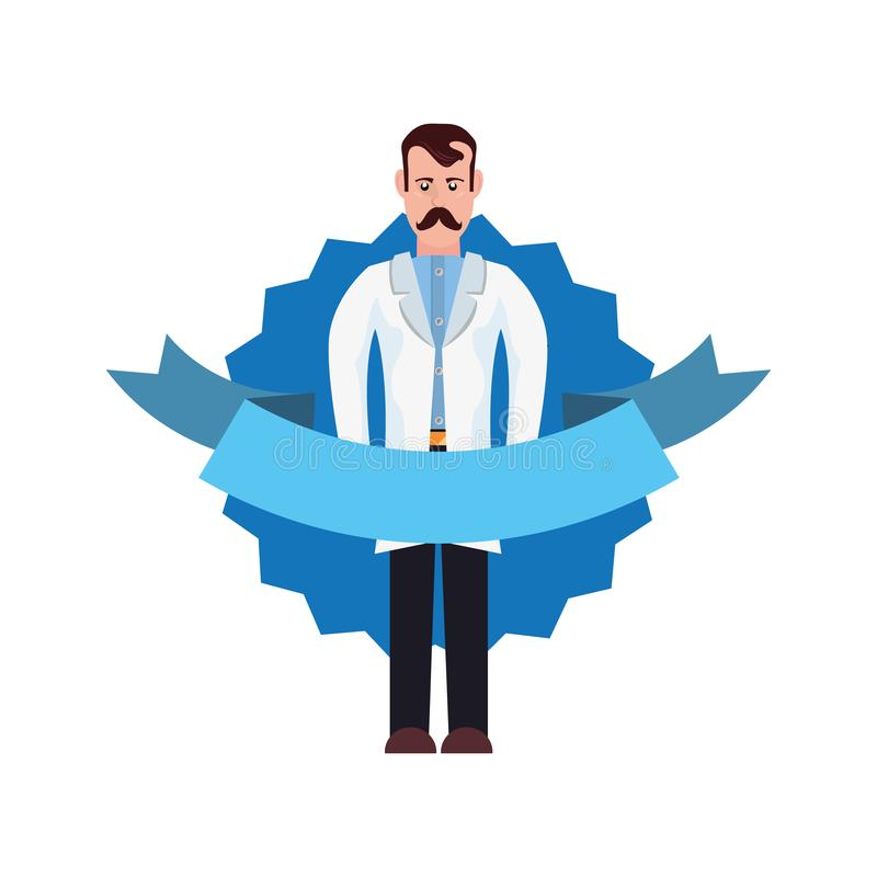 Movember prostate cancer day royalty free illustration