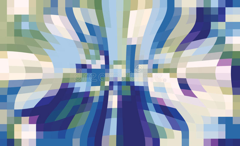 Movement. Abstract image movement. digital images stock illustration