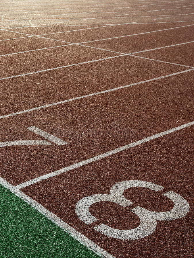 Sport. Movement of people in track and field royalty free stock images
