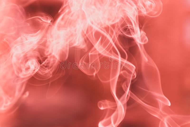 The movement of the pink and white smoke close up texture background royalty free stock photo