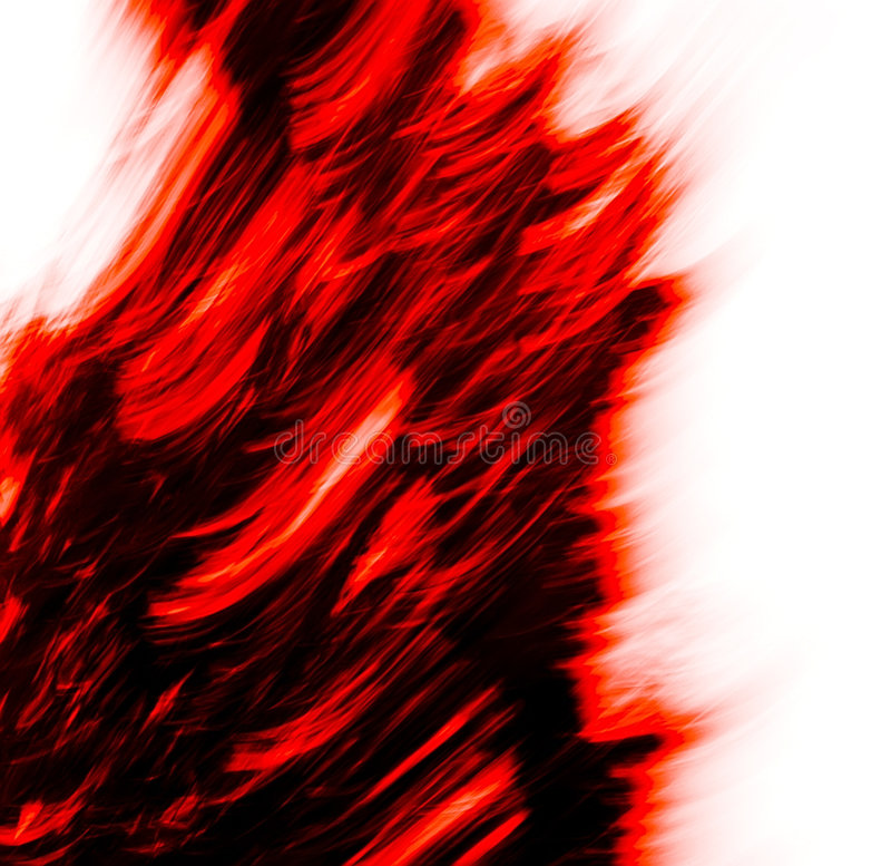 Movement of red (texture)