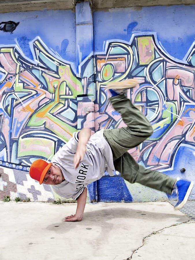 Mover-se de Breakdancer foto de stock royalty free