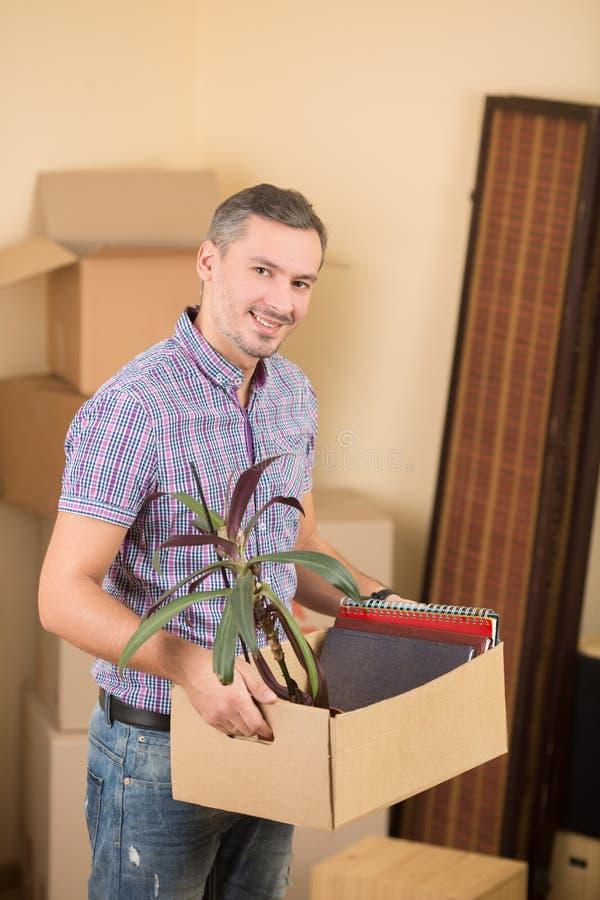 Mover-se em uma casa nova imagens de stock royalty free