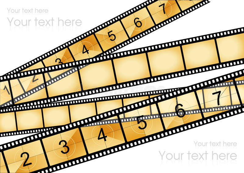Movie Background Stock Images