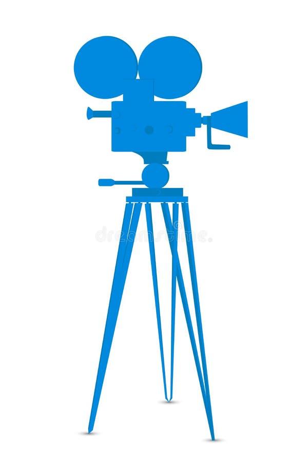 Free Movie Camera Royalty Free Stock Photography - 17554857