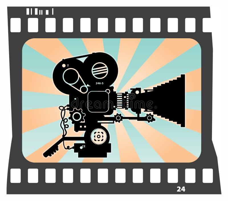 Download Movie camera stock vector. Image of program, broadcasting - 24470183