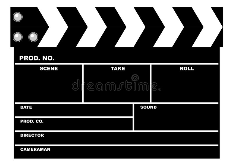 Download Movie Clapboard Stock Photography - Image: 1630812