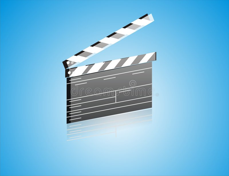 Download Movie ClapBoard Royalty Free Stock Image - Image: 3634496