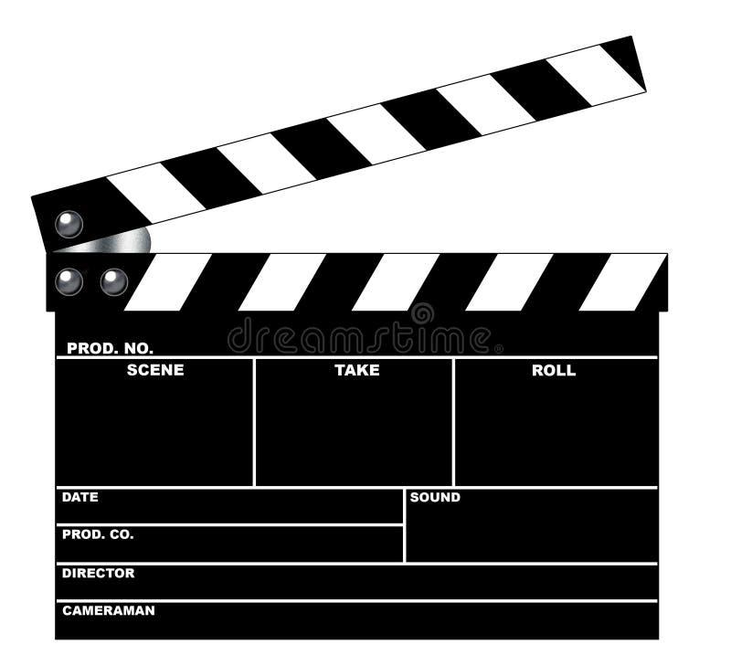 movie clapboard stock illustration illustration of clipping 589341. Black Bedroom Furniture Sets. Home Design Ideas