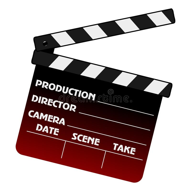 Download Movie Clapper Stock Image - Image: 17001001