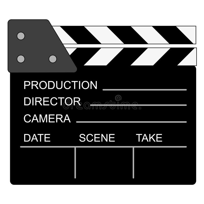 Download Movie Clapper Board Royalty Free Stock Image - Image: 15717556