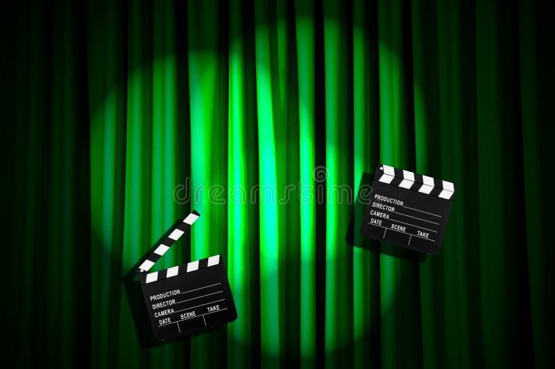 Download Movie clapper board stock image. Image of chalkboard - 31601341