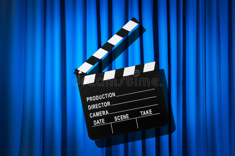 Download Movie clapper board stock image. Image of chalkboard - 31753055