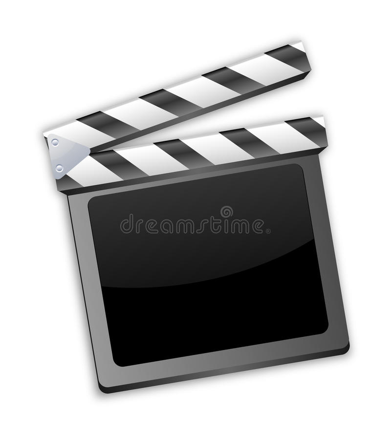 Movie Clapper, Clapboard, Clapperboard, Film Slate Royalty Free Stock Image