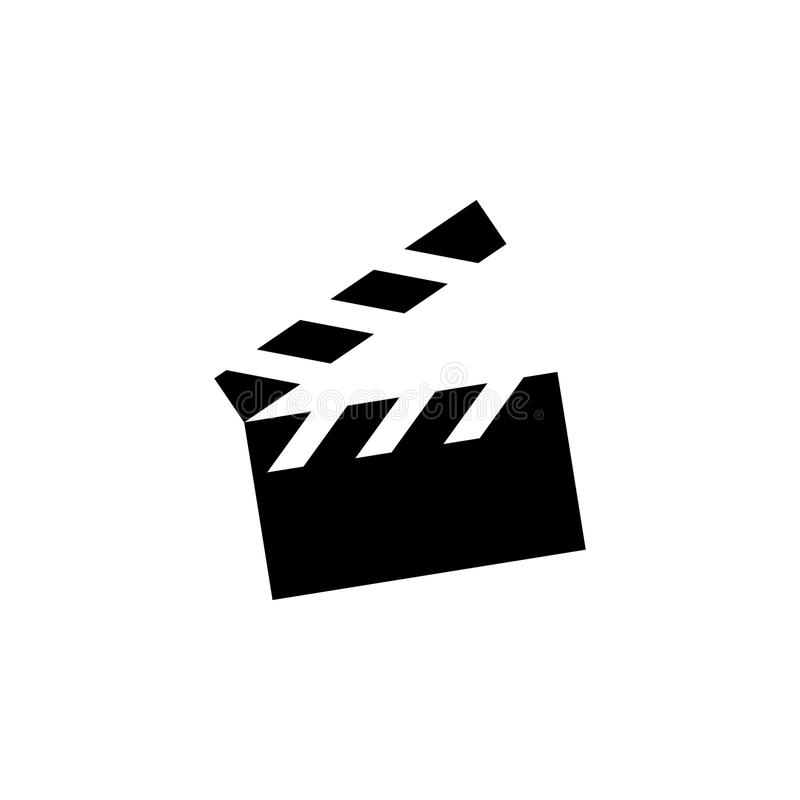 Movie Cracker.Making Movie Single Icon In Outline Style